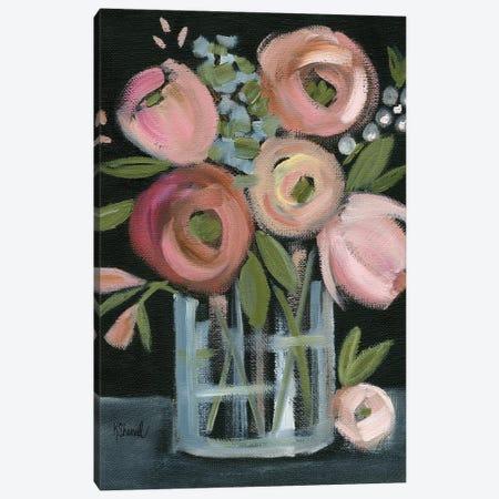 Bountiful Bouquet Canvas Print #SRL48} by Kate Sherrill Art Print