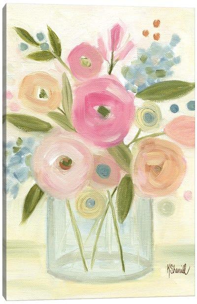 Bright Bouquet Canvas Art Print