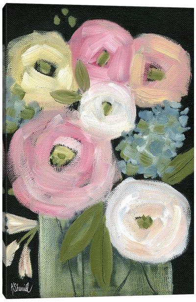 Colorful Blooms Canvas Art Print