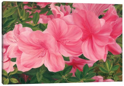 Eager Blooms Canvas Art Print