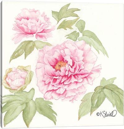 Garden Blush Canvas Art Print