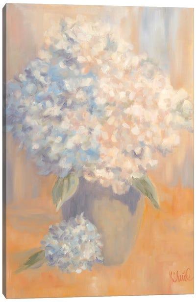 Hydrangeas in the Morning Light Canvas Art Print
