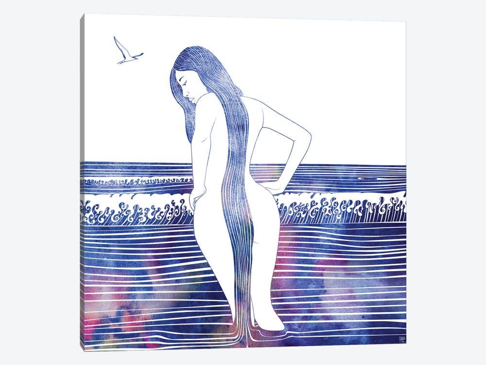 Eunike by sirenarts 1-piece Canvas Art