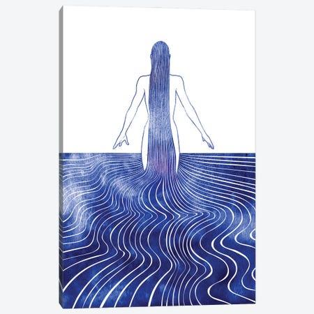 Glaukonome Canvas Print #SRN108} by sirenarts Canvas Wall Art
