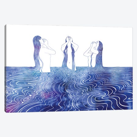Sirens Song Canvas Print #SRN109} by sirenarts Canvas Artwork