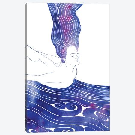 Nereid LIV Canvas Print #SRN114} by sirenarts Canvas Artwork