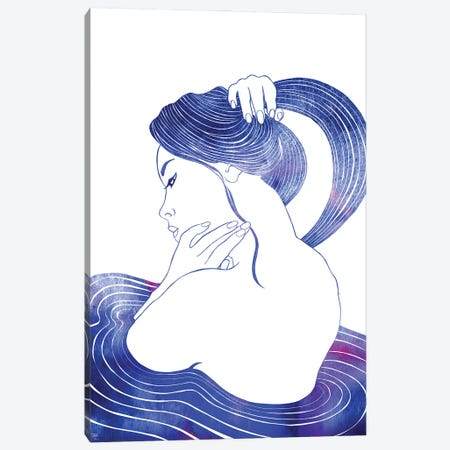 Nereid LVIV Canvas Print #SRN116} by sirenarts Canvas Wall Art