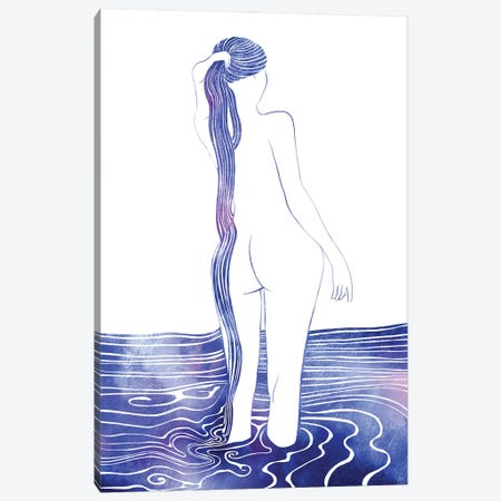 Nereid LIX Canvas Print #SRN118} by sirenarts Canvas Print