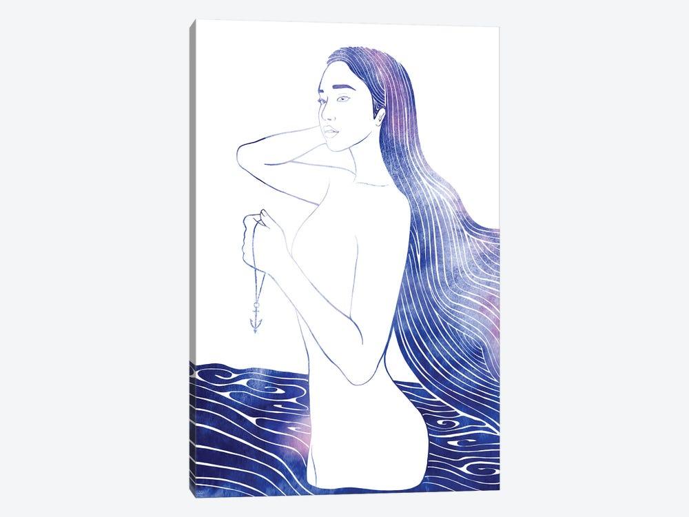 Nereid LXII by sirenarts 1-piece Canvas Wall Art