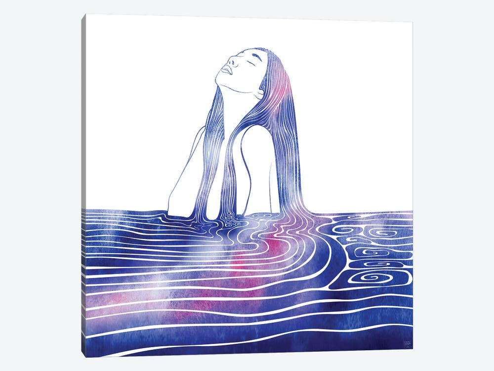 Nereid LXV by sirenarts 1-piece Canvas Artwork