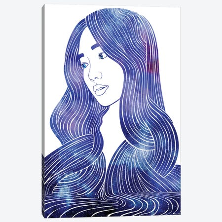 Nereid LXVI Canvas Print #SRN123} by sirenarts Canvas Wall Art