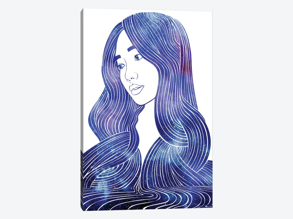 Nereid LXVI by sirenarts 1-piece Canvas Art Print