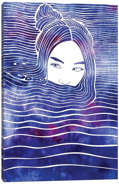 Nereid LXIX Canvas Art Print