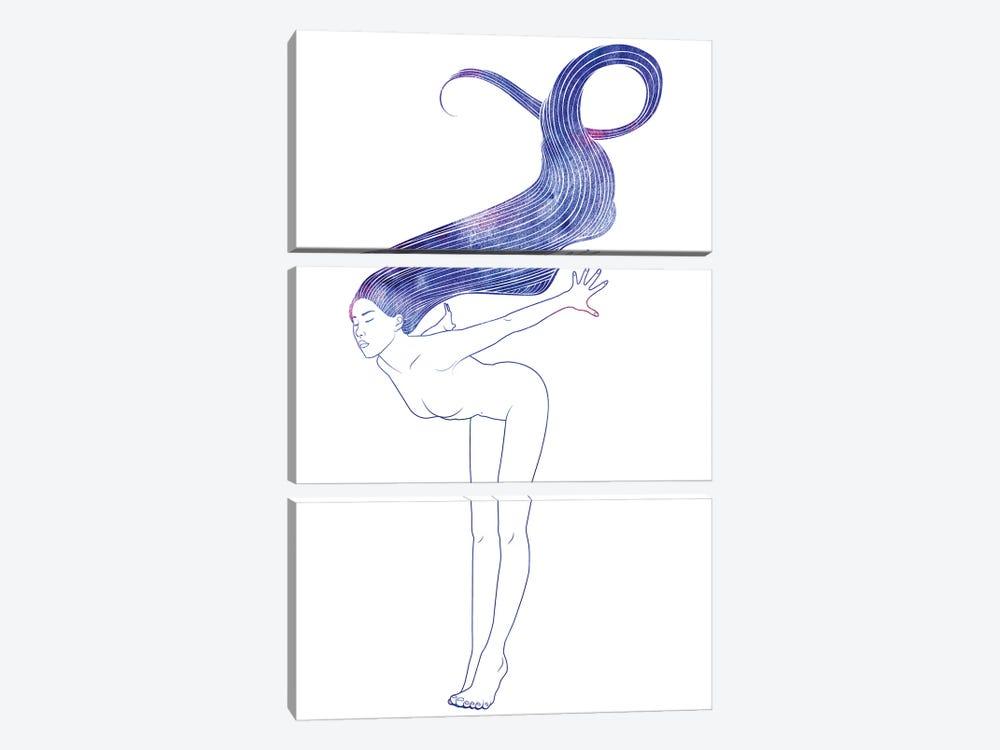 Nereid LXXIII by sirenarts 3-piece Art Print