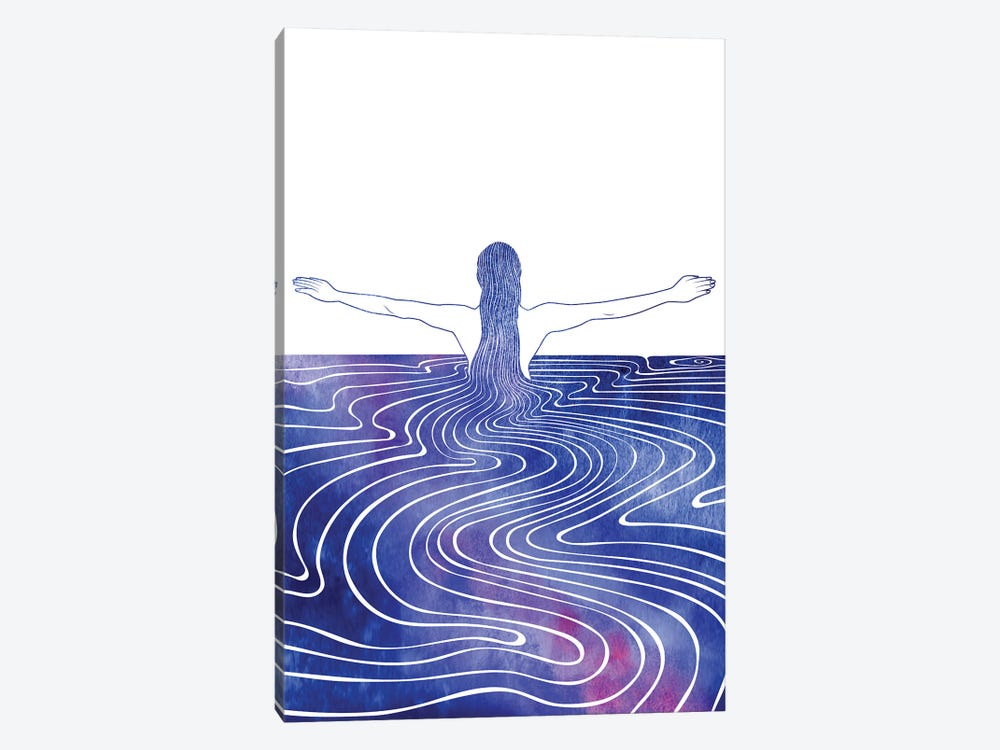 Nereid LXXIV by sirenarts 1-piece Canvas Artwork