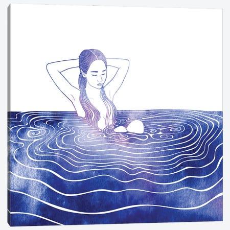 NEREID LXXVI Canvas Print #SRN133} by sirenarts Canvas Art Print