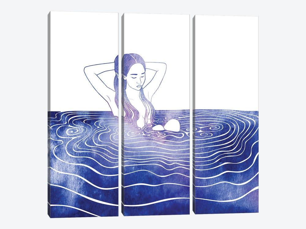 NEREID LXXVI by sirenarts 3-piece Canvas Artwork