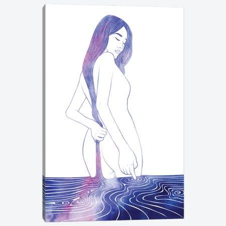 Nereid LXXVII Canvas Print #SRN134} by sirenarts Canvas Artwork