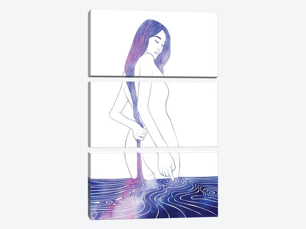 Nereid LXXVII by sirenarts 3-piece Art Print