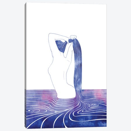 Nereid LXXIX Canvas Print #SRN136} by sirenarts Canvas Artwork