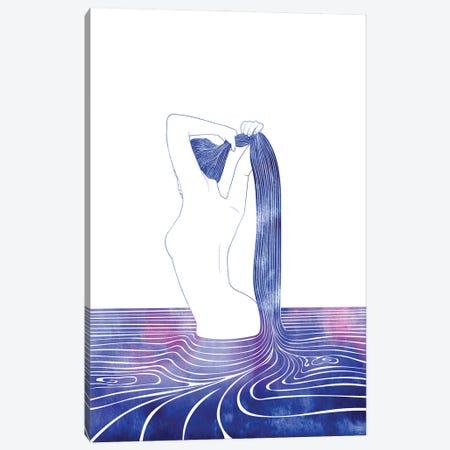Nereid LXXIX Canvas Print #SRN136} by sirenarts Canvas Artwork