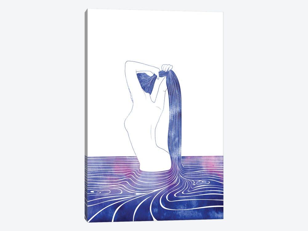 Nereid LXXIX by sirenarts 1-piece Canvas Print
