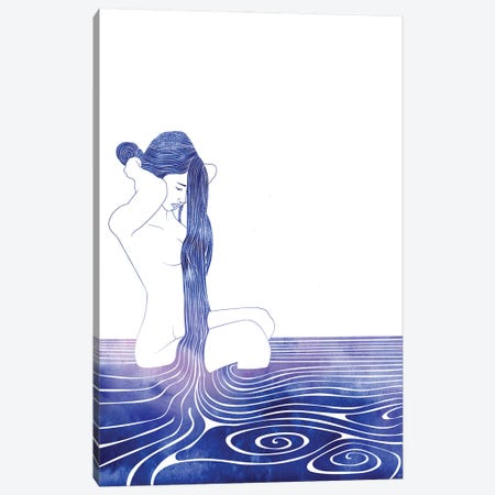 Nereid LXXX Canvas Print #SRN137} by sirenarts Canvas Art