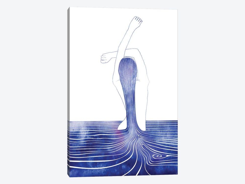 Nereid LXXXI by sirenarts 1-piece Art Print
