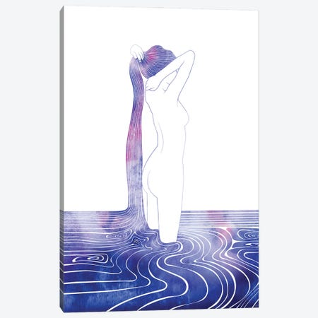 Nereid LXXXIII Canvas Print #SRN140} by sirenarts Canvas Art