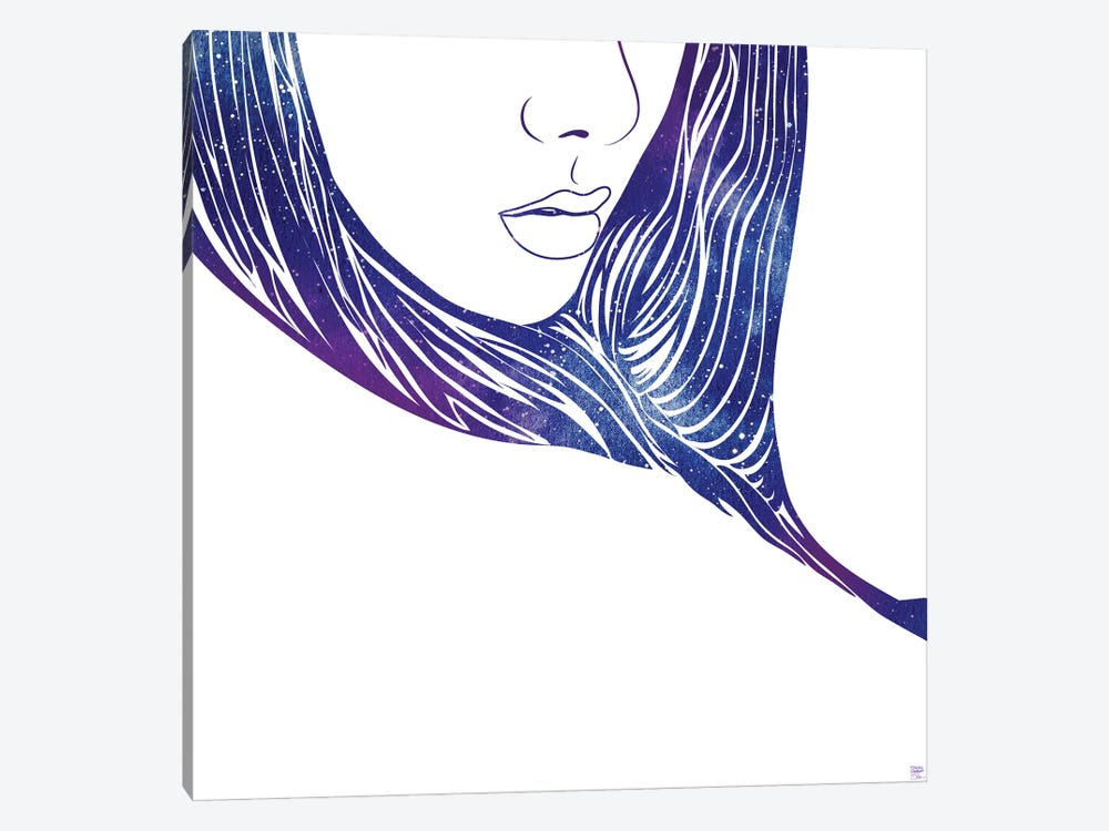Closer VII by sirenarts 1-piece Canvas Artwork