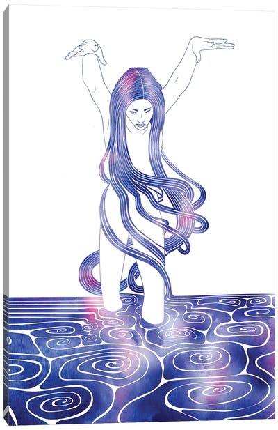 Nereid LXXXVI Canvas Art Print