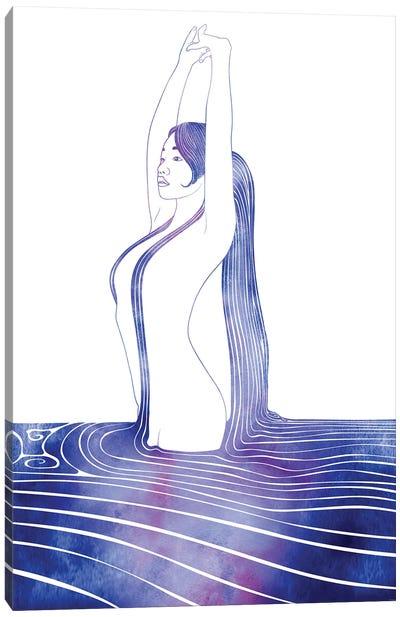 Nereid LXXXVII Canvas Art Print