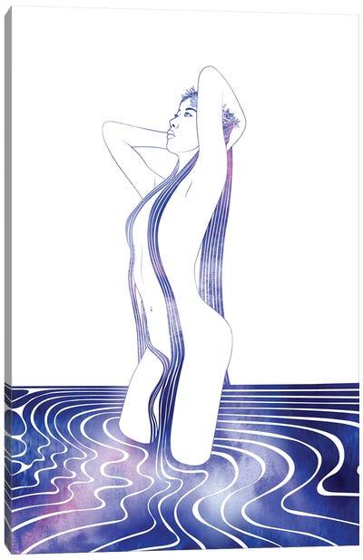 Nereid LXXXVIII Canvas Art Print
