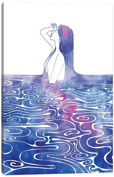 Nereid CV Canvas Art Print