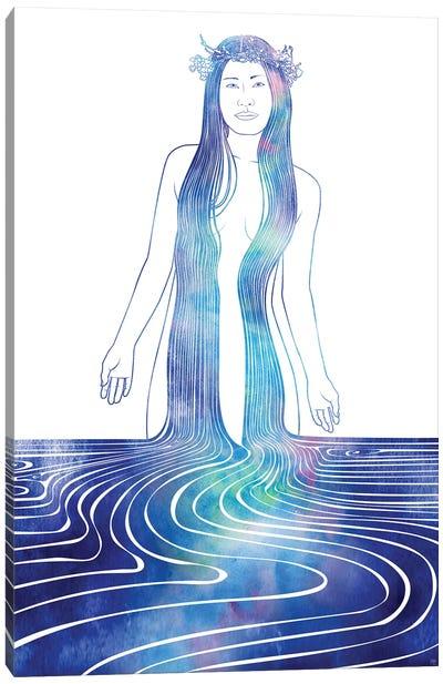 Nereid CXII Canvas Art Print