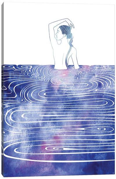 Nereid CXIII Canvas Art Print