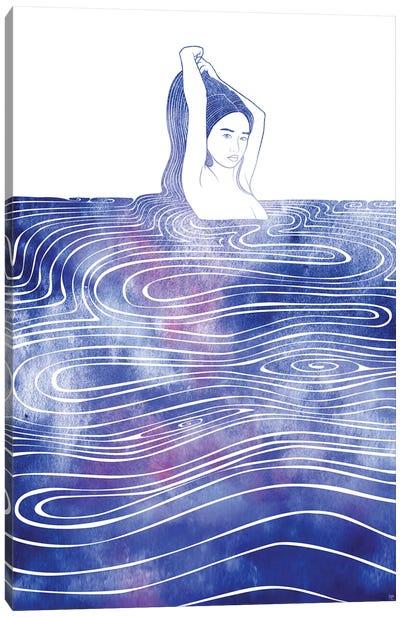 Nereid CXV Canvas Art Print