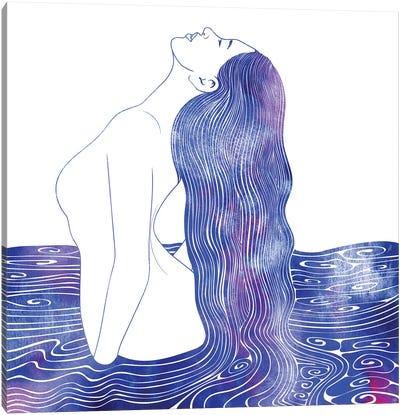 Nereid CXVI Canvas Art Print