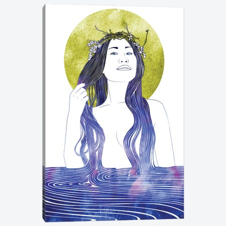 Nereid CXXIV Canvas Print #SRN191} by sirenarts Art Print