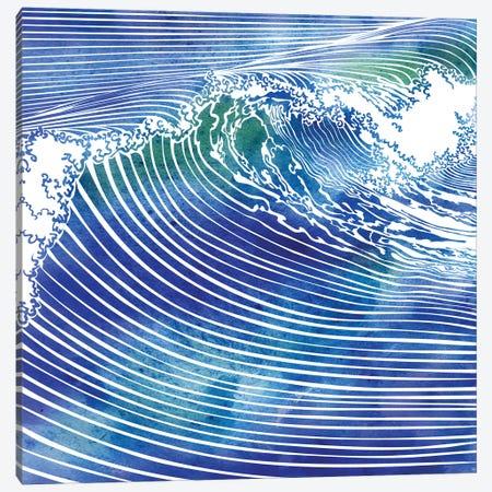 Atlantic Waves Canvas Print #SRN1} by sirenarts Canvas Art