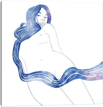 Nereid XVII Canvas Art Print