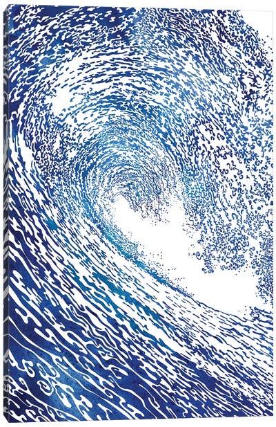 Pacific Waves IV Canvas Art Print