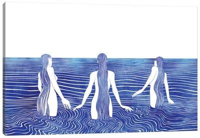 Sirens Call Canvas Art Print