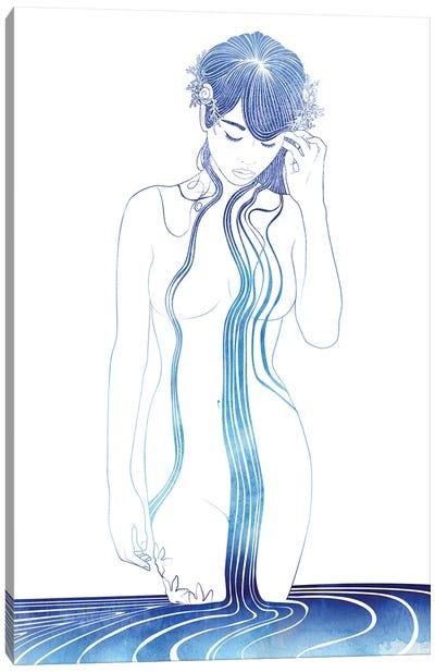 Protomedeias Gaze Canvas Art Print
