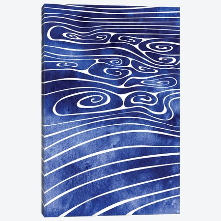 Tide XVI Canvas Print #SRN85} by sirenarts Canvas Wall Art