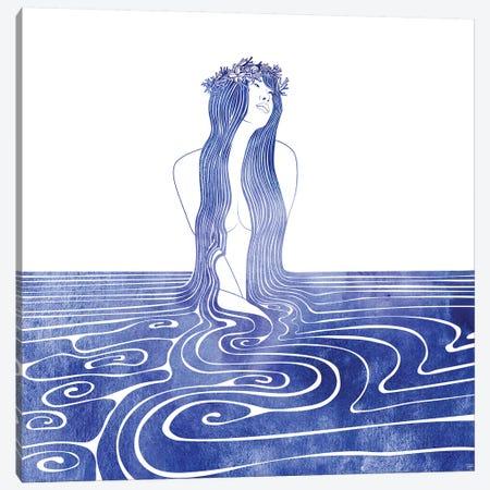 Kymodoke Canvas Print #SRN87} by sirenarts Canvas Art