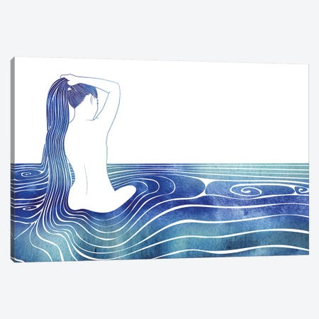 Panopeia Canvas Print #SRN89} by sirenarts Canvas Art Print