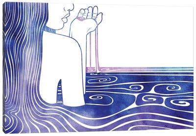 Kalianassa Canvas Art Print