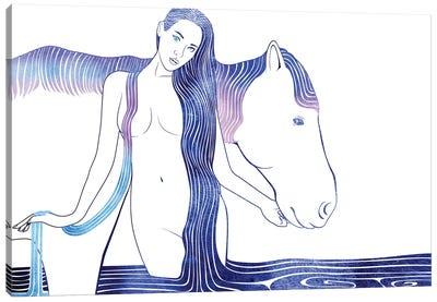 Hipponoe Canvas Art Print