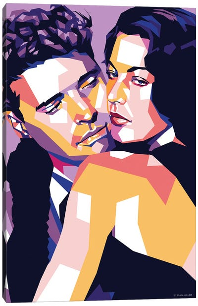 Burt Lancaster and Ava Gardner In ''The Killers'' Canvas Art Print
